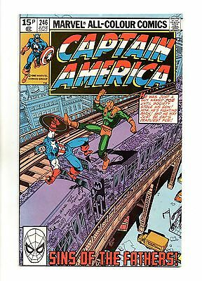 Captain America Vol 1 No 246 Jun 1980 (VFN+ to NM-) Modern Age (1980 - Now)