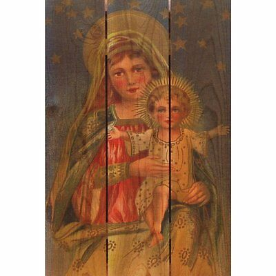 Mother's Arms 16x24-inch Indoor/ Outdoor Full Color Cedar Wall Art