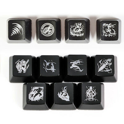 League of Legends LOL Cherry MX OEM Backlight Keycaps for Mechanical Keyboard