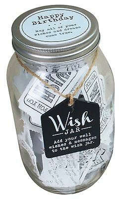 Royal County Wish Jar A Keepsake For Special Occasion Happy Birthday Blue WJ003
