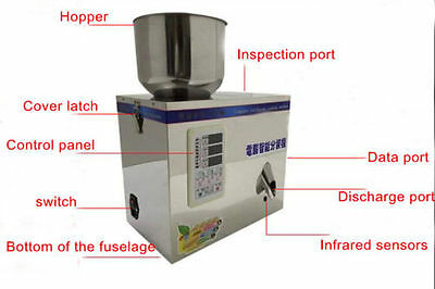 110V Small Dry Powder Particle Subpackage Device Weighing and Filling Machine