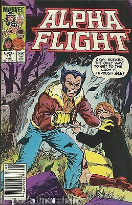 Alpha Flight comic issue 13