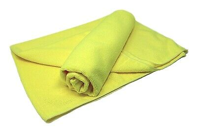 Microfibre Cloths Jumbo Twin Pack EXTRA LARGE 78cm x 60cm Drying Cleaning Cloth