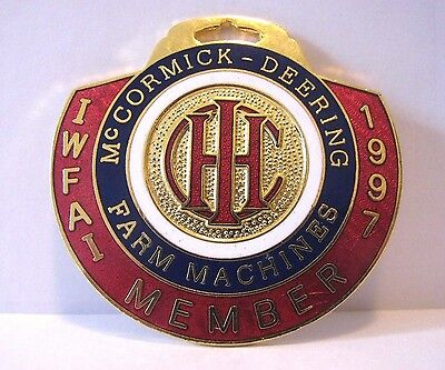 IH IHC International McCormick Deering Logo Pocket Watch Fob 1997  IWFA  Wolfe