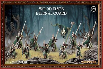 Wood Elves Eternal Guard Warhammer Age of Sigmar Games Workshop