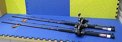 Daiwa 9 ft Line Counter Trolling Combo WLDR 902MHR 9' /Magda  MA 45D 2 Pack