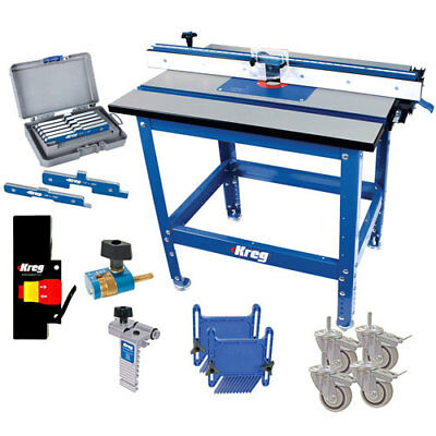 Kreg PRS1045 Precision Router Table Premium Master System Tool W/ Accessories
