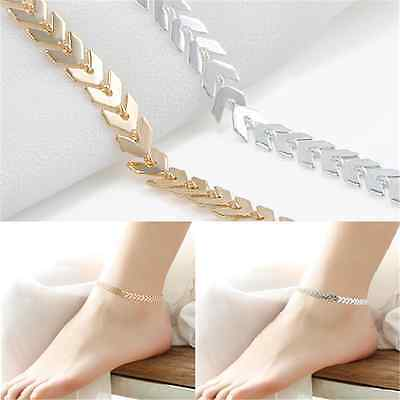 HOT! Women Gold Barefoot Ankle Chain Anklet Bracelet Foot Jewelry Sandal Beach