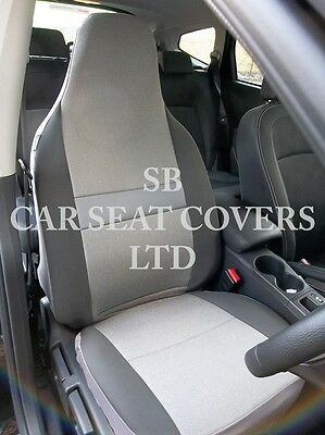 To Fit A Renault Modus, Car Seat Covers, Sheen Grey Fabric