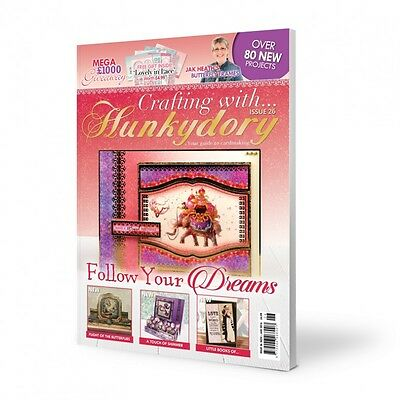 Crafting With Hunkydory Issue 26 - with Lovely in Lace papercraft Kit
