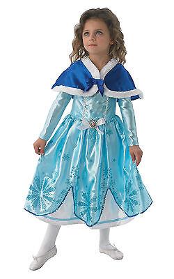 Fancy Dress Costume ~ Girls Disney Princess Winter Sofia The First Ages 2-6