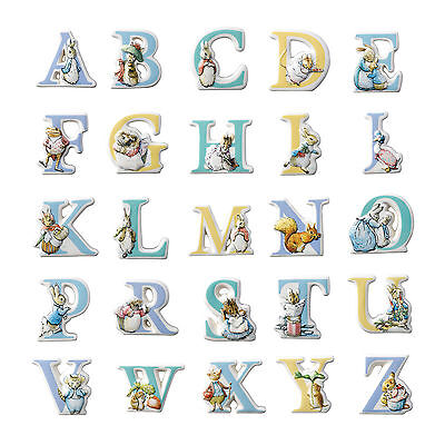 Beatrix Potter Peter Rabbit Characters Alphabet Letters *choose From Menu* Bnib