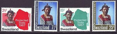 Swaziland 1967 SC 126-129 MH Set Self Government