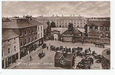 irish postcard ireland westmeath athlone military barracks