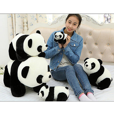 Cute Soft Plush Stuffed Panda Animal Doll Toy Holiday XMAS Gifts 18/22/30/40cm