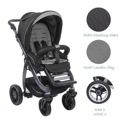 Teutonia Cosmo V3 R3 Pushchair Sport stroller Choice of colours NEW