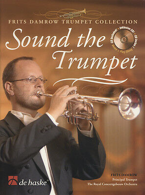Sound The Trumpet Sheet Music Book with CD Frits Damrow
