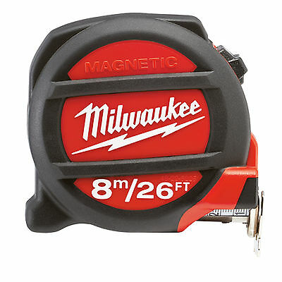 Milwaukee 8Mtr / 26Ft Magnetic Tape Measure (48-22-5225)