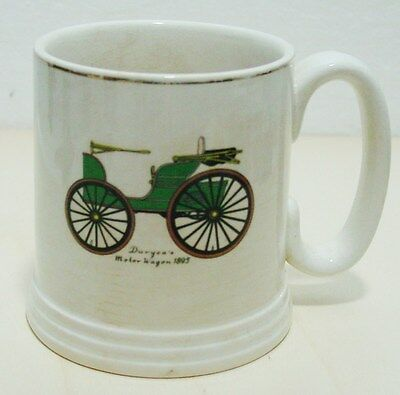 Lord Nelson Pottery England - Tazza Con Automobile 1895 - Vintage