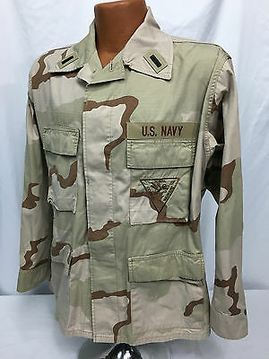 US Naval Coastal Warfare Officer Desert Blouse