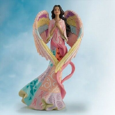 Strength Comes From Within Keith Mallet Angel Figure Messengers of Heavenly Hope