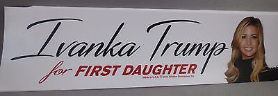 Wholesale Lot Of 10 Ivanka Trump First Daughter Sticker Donald President Photo $