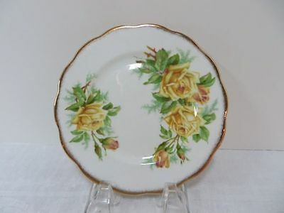 Royal Albert Tea Rose - Yellow Salad Plate