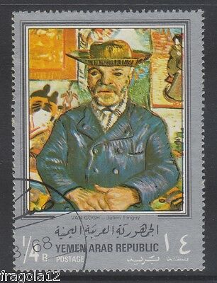 Republic North Yemen 1968 - Vincent Van Gogh - B. 1/4 (2) - Usato