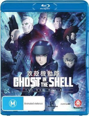 Ghost In The Shell - The New Movie Blu-ray Region B New!