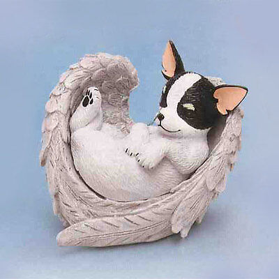 Chihuahua Furr-ever in our Hearts Paw Prints Dog in Angel Wings 0905738003