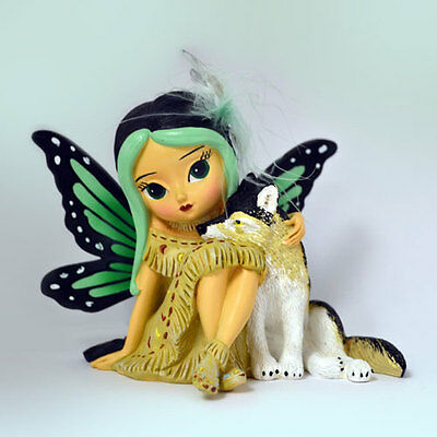 Dusksky Spirit of Vision Fairy Wolf Spirit of the Pack -Jasmine Becket Griffith