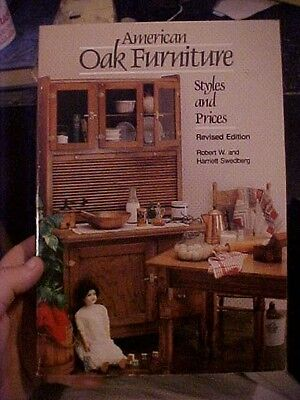 1982 book AMERICAN OAK FURNITURE STYLES AND PRICES REVISED ED, ID & VALUES