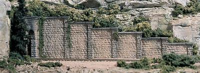 N Scale Woodland Scenics 6 Cut Stone Retaining Wall Sections C1159