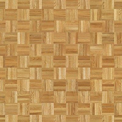 Dolls House Miniature Parquet Flooring Honey Colour Oak Square Effect