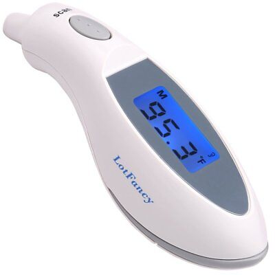 Digital Medical Infrared Ear Forehead Thermometer Fever Temperature Baby Women