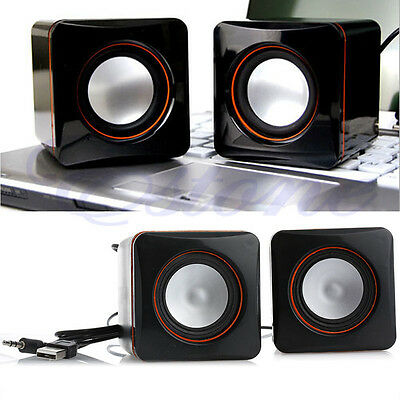 Mini USB Audio Music Player Speaker For iPhone iPad MP3 Laptop PC Portable Hot