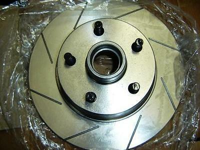 PAIR VMAX SLOTTED Ford EF EL GLi XR6 XR8 FALCON FAIRMONT FRONT Disc Brake Rotors
