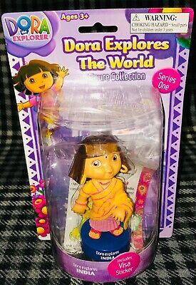 Dora Explores The World - Figure Collection - India