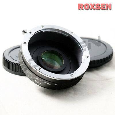Zhongyi Lens Turbo II Focal Reducer Booster Adapter Canon EOS to Micro 4/3 M4/3