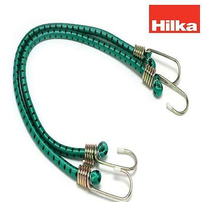 "HILKA 2 pce 24"" (600mm) x 12mm Heavy Duty Bungee Straps Made to BS and TUV/GS st"
