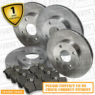 Ferodo Fit BMW 320 d E91 Series 2.0 TD Touring Brake Discs Coated Pair Front
