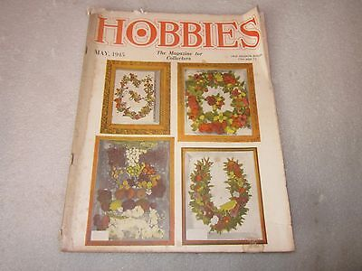 1945 Hobbies The Magazine for Collectors May issue Old Shadow Boxes