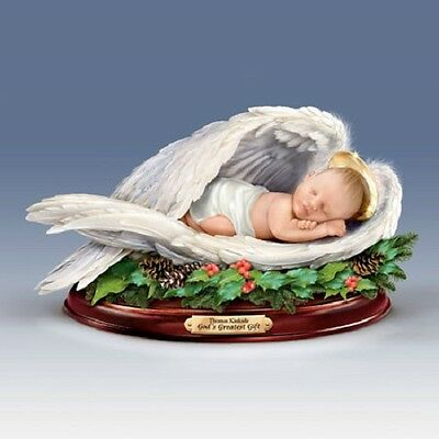 Christmas Blessing Baby Jesus Figurine Thomas Kinkade Bradford Exchange