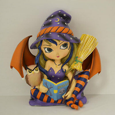 Casting Spells is a Hoot Jasmine Becket Griffith Bewitching Tales Fairy Figurine