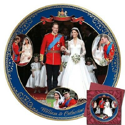 Kate and William Commemorative Wedding Royal Collector Plate  Bradford Exchange