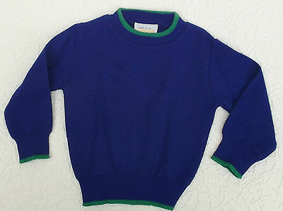 Vintage baby jumper UNUSED 6 months Chest 18 Windsor long sleeve sweater 1980s