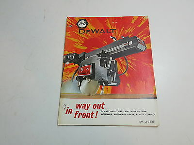 Vintage 1967 Black And Decker B&d Dewalt Tool Catalog