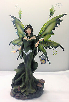 Fairy Night Time Traveller Legends of Avalon Figurine with Metal Wings