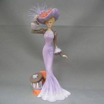 A Beautiful Bonnet - Ladies of the Lamplight Figurine  Thomas Kinkade