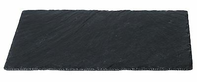 Just Slate Natural Slate Large Rectangular Cheese Board with Chalk